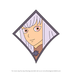 How to Draw Lysithea from Fire Emblem