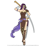 How to Draw Malice from Fire Emblem