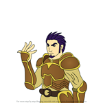 How to Draw Marcus from Fire Emblem