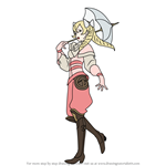 How to Draw Maribelle from Fire Emblem