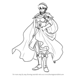 How to Draw Marth from Fire Emblem