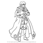 How to Draw Merric from Fire Emblem