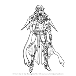 How to Draw Minerva from Fire Emblem