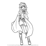 How to Draw Nino from Fire Emblem