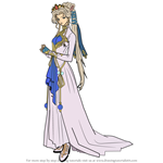 How to Draw Nyna from Fire Emblem