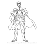 How to Draw Odin from Fire Emblem