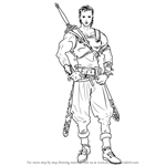 How to Draw Ogma from Fire Emblem
