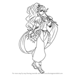 How to Draw Olivia from Fire Emblem