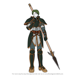 How to Draw Oscar from Fire Emblem