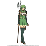 How to Draw Palla-Echoes from Fire Emblem