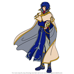 How to Draw Pelleas from Fire Emblem