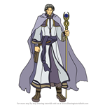 How to Draw Renault from Fire Emblem
