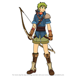 How to Draw Rolf from Fire Emblem