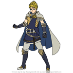 How to Draw Rowan from Fire Emblem