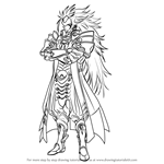 How to Draw Ryoma from Fire Emblem