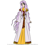 How to Draw Sara from Fire Emblem