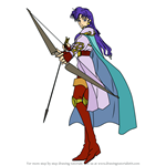 How to Draw Selfina from Fire Emblem