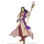 How to Draw Sephiran from Fire Emblem
