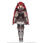 How to Draw Severa from Fire Emblem