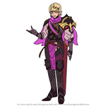 How to Draw Siegbert from Fire Emblem