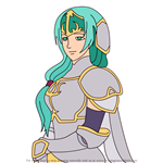 How to Draw Sigrun from Fire Emblem