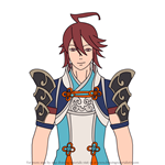 How to Draw Subaki from Fire Emblem
