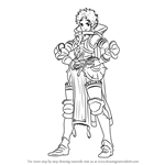 How to Draw Sully from Fire Emblem