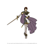 How to Draw Tanith from Fire Emblem
