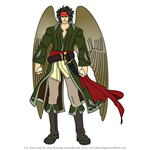 How to Draw Tibarn from Fire Emblem