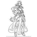 How to Draw Titania from Fire Emblem