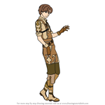 How to Draw Tobin from Fire Emblem
