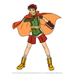 How to Draw Tormod from Fire Emblem
