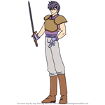 How to Draw Ulster from Fire Emblem