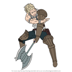 How to Draw Vaike from Fire Emblem