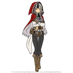 How to Draw Velouria from Fire Emblem