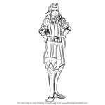 How to Draw Virion from Fire Emblem