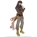 How to Draw Volke from Fire Emblem