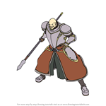 How to Draw Wallace from Fire Emblem