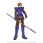 How to Draw Zeiss from Fire Emblem