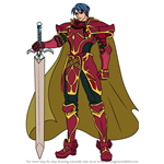 How to Draw Zelgius from Fire Emblem