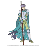 How to Draw Zelot from Fire Emblem