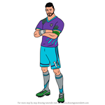 How to Draw Midfield Maestro from Fortnite