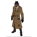 How to Draw Sleuth from Fortnite