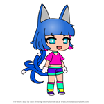 How to Draw Lado from Gacha Life