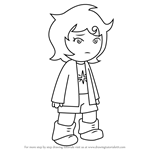 How to Draw Joey Claire from Hiveswap