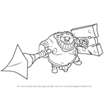 How to Draw Ceremonial Troop from Hyrule Warriors