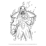 How to Draw Atrocitus from Injustice - Gods Among Us