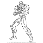 How to Draw Cyborg from Injustice - Gods Among Us