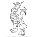 How to Draw Baron Praxis from Jak and Daxter