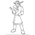 How to Draw Razer from Jak and Daxter